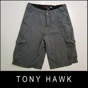 Tony Hawk Men Casual Outdoor Cargo Gray Short 28